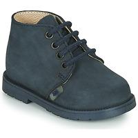 Boty Chlapecké Kotníkové boty Little Mary GINGO Tmavě modrá