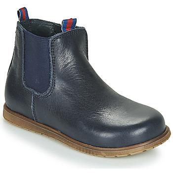 Boty Chlapecké Kotníkové boty Little Mary JAUFFREY Tmavě modrá