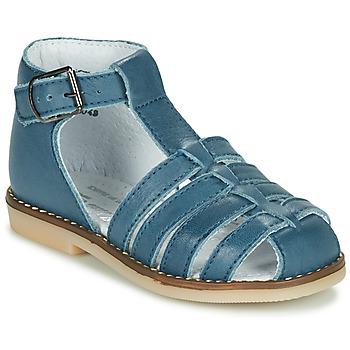 Boty Děti Sandály Little Mary JOYEUX Modrá