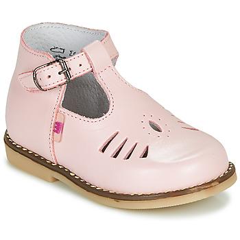 Boty Děti Sandály Little Mary SURPRISE Růžová