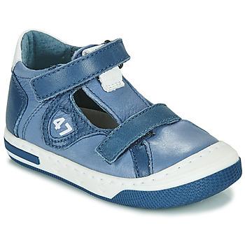 Boty Chlapecké Nízké tenisky Little Mary LORENZO Modrá