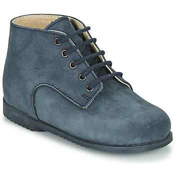 Boty Chlapecké Kotníkové boty Little Mary MILOT Modrá