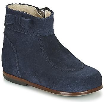Boty Dívčí Kotníkové boty Little Mary OLISETTE Tmavě modrá