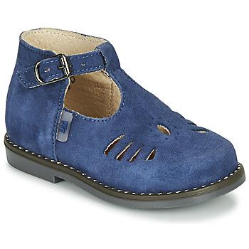 Boty Děti Sandály Little Mary SURPRISE Modrá
