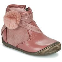 Boty Dívčí Kotníkové boty Little Mary FRANCOISE Růžová