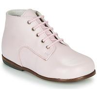 Boty Dívčí Kotníkové boty Little Mary MILOTO Růžová