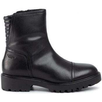 Boty Ženy Polokozačky Vagabond Shoemakers Černé botičky Kenova Black