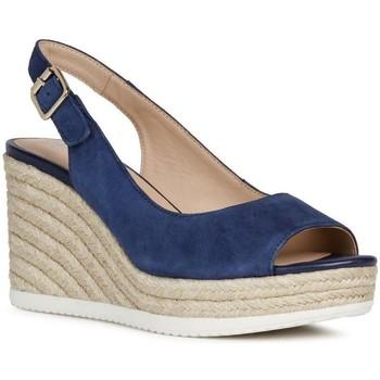 Boty Ženy Sandály Geox Sandály D Ponza Blue