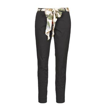 Textil Ženy Kapsáčové kalhoty Betty London  Černá