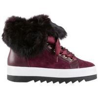 Boty Ženy Zimní boty Högl Útulné vino boty Purple