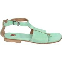 Boty Ženy Sandály Moma Sandály BK89 Zelená