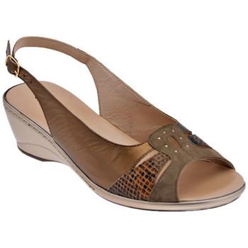 Boty Ženy Sandály Confort  Hnědá