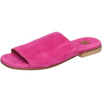 Boty Ženy Dřeváky Moma Sandály BK107 Růžový