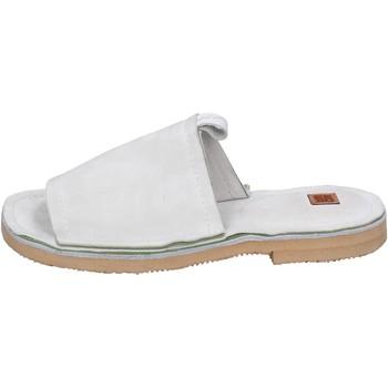Boty Ženy Dřeváky Moma BK121 Bílý
