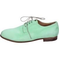 Boty Ženy Šněrovací polobotky  & Šněrovací společenská obuv Moma Klasický BK131 Zelená