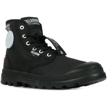 Boty Kotníkové boty Palladium Manufacture Pampa Lite Overlab Černá