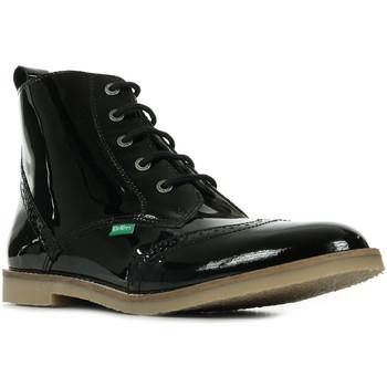Boty Dívčí Kotníkové boty Kickers Tyrol Černá