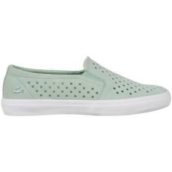 Boty Ženy Street boty Lacoste Gazon Slip ON 216 1 Caw Zelené