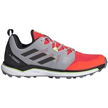 Boty Muži Pohorky adidas Originals Terrex Agravic Červené,Šedé