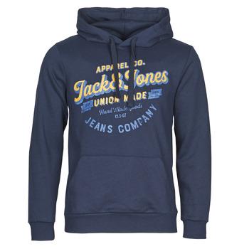 Textil Muži Mikiny Jack & Jones JJEJEANS Tmavě modrá