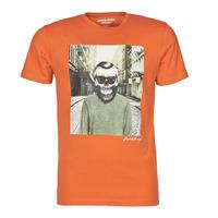 Textil Muži Trička s krátkým rukávem Jack & Jones JORSKULLING Oranžová