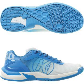 Boty Ženy Multifunkční sportovní obuv Kempa Chaussures femme  Attack 2.0 blanc/bleu