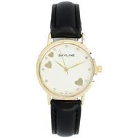 Hodinky & Bižuterie Ženy Ručičkové hodinky Skyline Náramkové dámské hodinky s kamínky  Quartz 9300-7