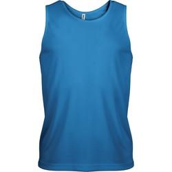 Textil Muži Tílka / Trička bez rukávů  Proact Débardeur  Sport bleu eau