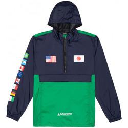 Textil Muži Větrovky Huf Jacket flags anorak Modrá