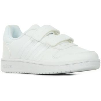 Boty Děti Nízké tenisky adidas Originals Hoops 2.0 CMF C Bílá