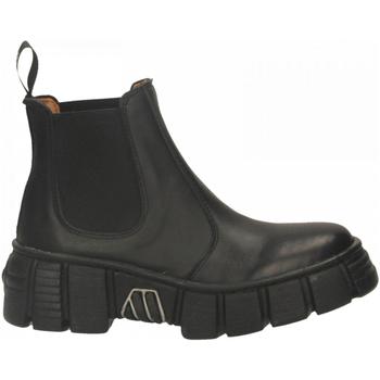 Boty Ženy Kotníkové boty New Rock M-WALL007ASA-C1 LUXOR nero