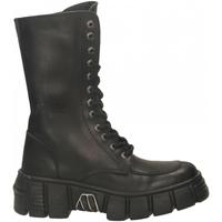 Boty Ženy Kotníkové boty New Rock M-WALL029N-C1 ITALI nero