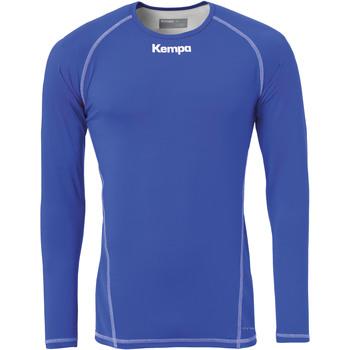 Textil Muži Trička s dlouhými rukávy Kempa Maillot de compression ML  Attitude bleu roi