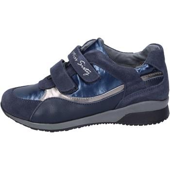 Boty Dívčí Módní tenisky Miss Sixty sneakers camoscio tessuto Blu