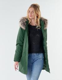 Textil Ženy Parky Only ONLKATY PETITE Khaki