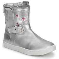 Boty Dívčí Kotníkové boty Pinocchio  Stříbrná