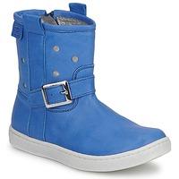 Boty Dívčí Kotníkové boty Pinocchio RABIDA Modrá