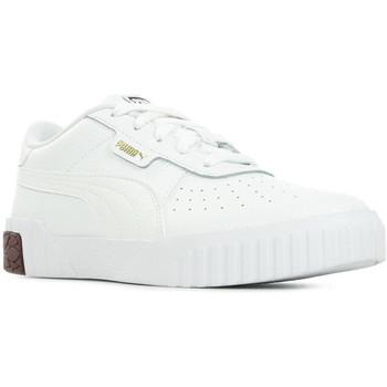 Boty Dívčí Nízké tenisky Puma Cali PS Bílá