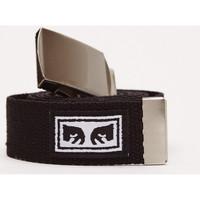 Textilní doplňky Muži Pásky Obey Big boy web belt Černá