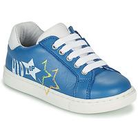 Boty Chlapecké Nízké tenisky GBB KARAKO Modrá