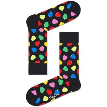 Doplňky  Muži Ponožky Happy Socks Apple sock Vícebarevné