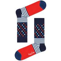 Spodní prádlo Muži Ponožky Happy Socks Stripes and dots sock Vícebarevné