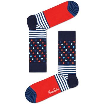 Doplňky  Muži Ponožky Happy Socks Stripes and dots sock Vícebarevné