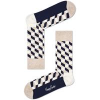 Spodní prádlo Muži Ponožky Happy Socks Filled optic sock Vícebarevné