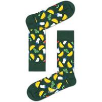 Doplňky  Chlapecké Ponožky Happy Socks Taco sock Vícebarevné