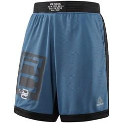 Textil Muži Kraťasy / Bermudy Reebok Sport Combat Boxing Modré
