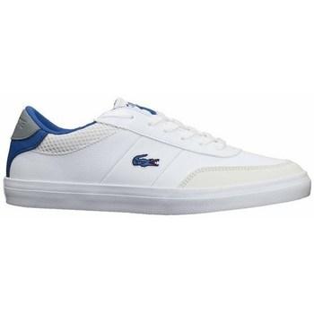 Boty Ženy Šněrovací polobotky  & Šněrovací společenská obuv Lacoste Court Master 120 2 Cuj Bílé, Modré