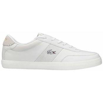 Boty Muži Šněrovací polobotky  & Šněrovací společenská obuv Lacoste Court Master 120 2 Cma Bílé
