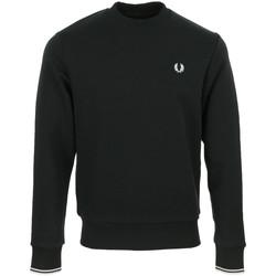 Textil Muži Mikiny Fred Perry Crew Neck Sweatshirt Černá