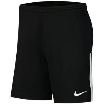 Textil Muži Tříčtvrteční kalhoty Nike League Knit II Černé